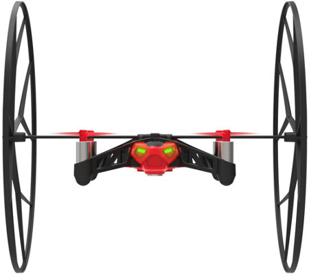 Parrot Rolling Spider Ground & Flying Drone w/ Aerial Snapshot &RemovableWheel