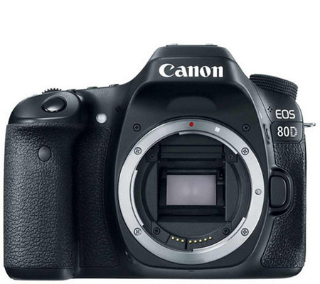 Canon EOS 80D 24MP DSLR Digital Camera Body