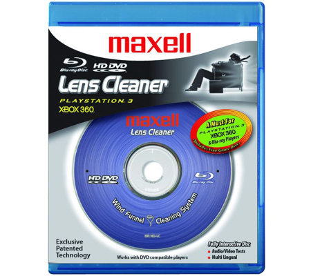 Maxell Blu-ray Disc & HD DVD Lens Cleaner