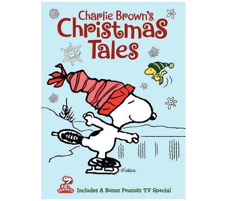Charlie Brown's Christmas Tales DVD