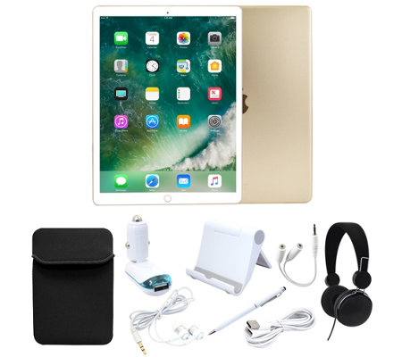 "Apple iPad Pro 9.7"" 128GB Wi-Fi with Accessories - Gold"