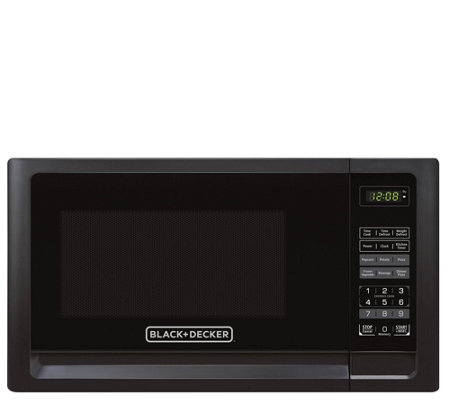 Black & Decker  1.1 Cu. Ft. Digital Microwave -Black
