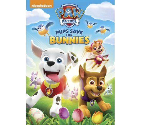 PAW Patrol: Pups Save the Bunnies DVD