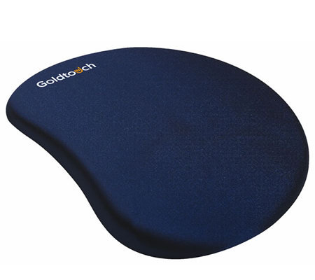 Goldtouch Gel Filled Mouse Pad - Blue