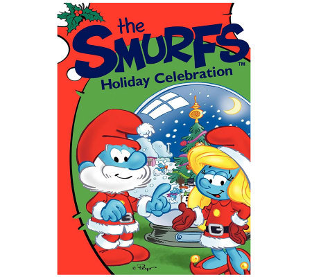 The Smurfs Holiday Celebration DVD