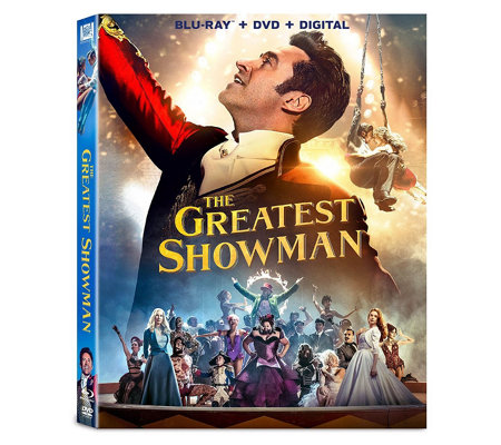 The Greatest Showman Blu Ray Dvd Combo