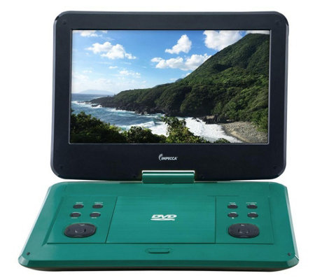 impecca 13 3 portable dvd player w 180 degreeswivel screen page