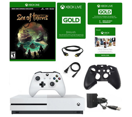 Xbox One S 1 TB Sea of Thieves Console with 3 Months Xbox Liv
