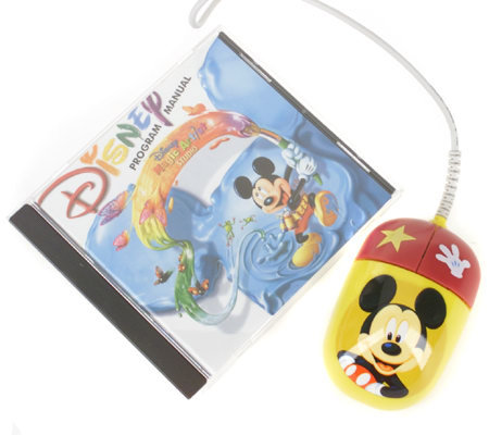 Mickey Mouse KidzMouse Optical Computer Mouse for Kids