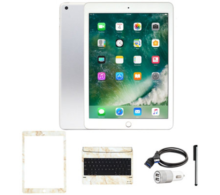 "Apple iPad 9.7"" 32GB Wi-Fi Tablet with Keyboard and Accessories"