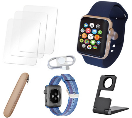 Apple Watch Series 2 42mm with Accessories