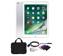 "Apple iPad 9.7"" 32GB Wi-Fi Tablet with Carrying Case and Accessories - E232073"
