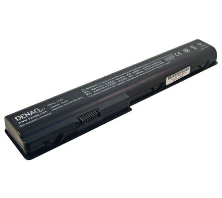 Denaq 8-Cell Laptop Battery - HP Pavilion DV7,DV8, HDX Series