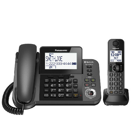 Panasonic Corded/Cordless 1-Handset and 1-Line