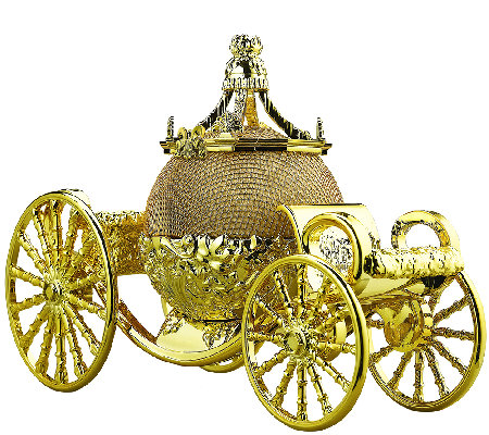 Cinderella's Carriage Rechargeable Bluetooth Speaker