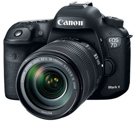 Canon EOS 7D Mark II DSLR Camera with 18-135mmIS Lens