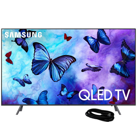 "Samsung 49"" Class QLED Smart Q4K Ultra HDTV and6' HDMI Cable"