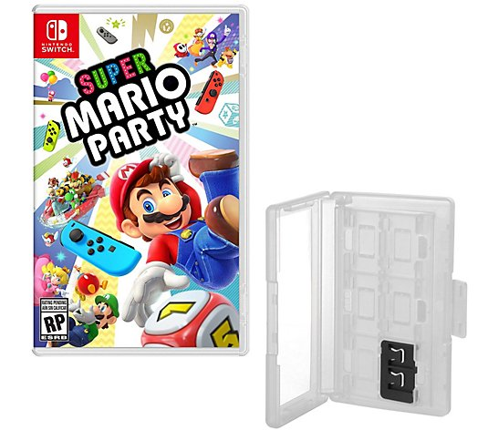 Super Mario Party & Game Caddy - Nintendo Switch