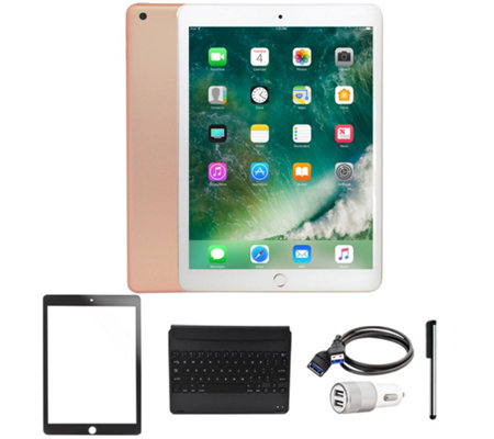 "All-New 2018 Apple iPad 9.7"" 32GB Wi-Fi Tablet with Accessories"