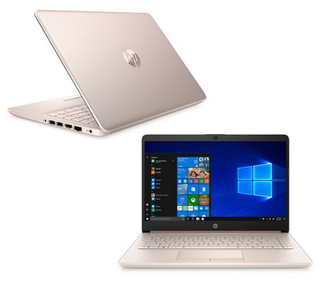 "HP 14"" Touch Laptop Intel 4GB RAM 64GB eMMC Office 365 & Voucher"