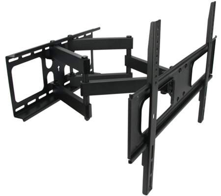 "MegaMounts Full-Motion Double-Articulating Mount - 32""-70"" TVs"