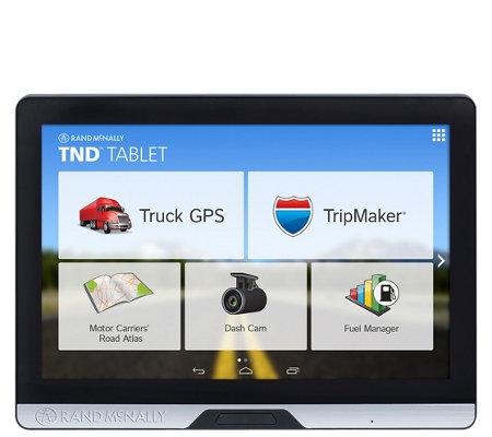Rand Mcnally Gps >> Rand Mcnally Tnd 8 Tablet Truck Gps Qvc Com