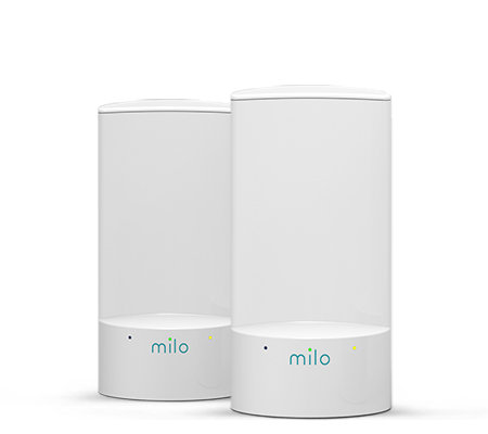Milo 2-Pack Whole Home Wi-Fi System Fix Dead Zones