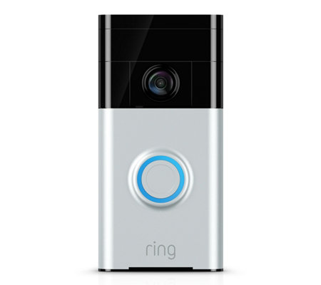 Ring Video Doorbell Two-Way Audio HD Surveillance w/ 3yr Warranty