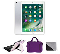 "Apple iPad 9.7"" 128GB Wi-Fi with Keyboard Case & Carry Case - E232575"