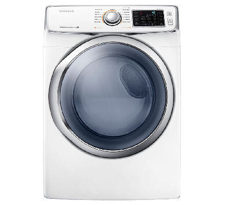 Samsung 5400 7.5 Cu.Ft. Front Load Electric Dryer - White
