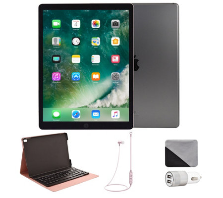 "Apple iPad Pro 10.5"" 512GB Cellular & Accessories - Space Gra"