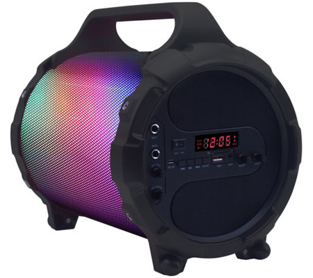 beFree Sound Portable Bluetooth Party Speaker with LED Lights