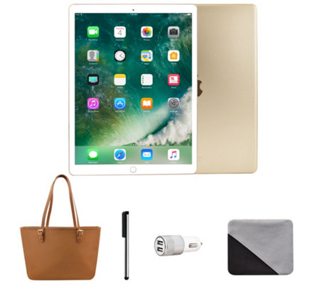"Apple iPad Pro 10.5"" 64GB Wi-Fi Tablet with Carry Tote and Accessories"