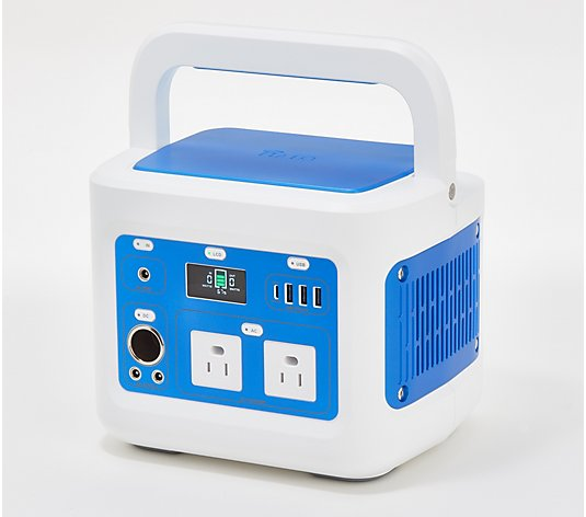 HALO Portable Back-up Power Station w/ AC Outlets, USB and DC Ports