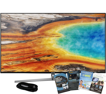 "Samsung 65"" LED 4K Smart HDR TV w/ HDMI and AppPack"