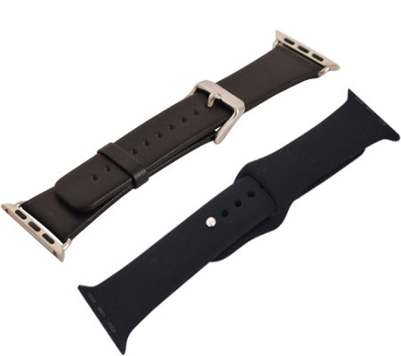 Digital Gadgets 2-Pack Replacement Bands for Apple Watch 42mm