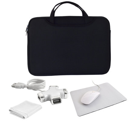 Universal Computer Starter Kit With Neoprenecarry Case