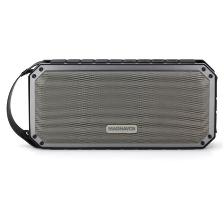 Magnavox Waterproof Portable Speaker Withcharging Port