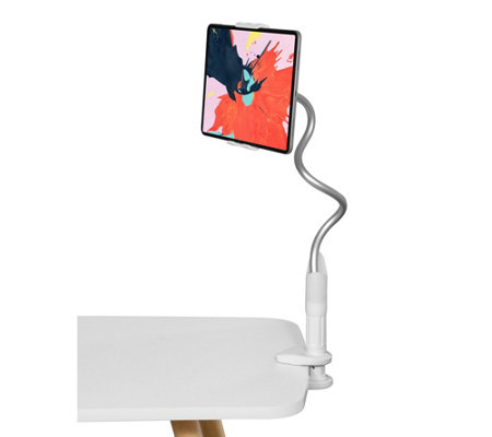 Lazy Arm Flexible Tablet & Phone Holder with Travel Storage Pouch