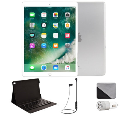 "Apple iPad Pro 10.5"" 512GB Cellular & Accessories - Silver"
