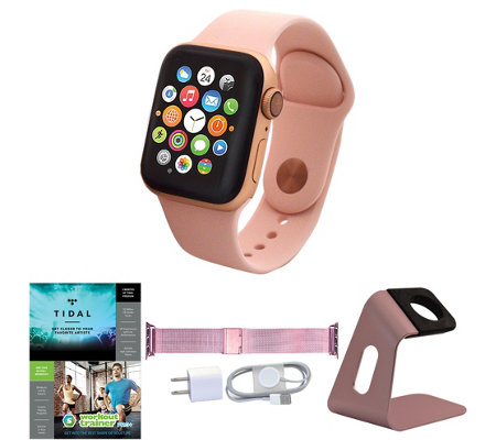 Apple Watch Series 4 GPS 40mm Sport Band withAccessories
