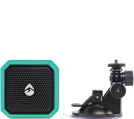 Ecoxgear Eco Pebble Lite Waterproof BT Speaker & Suction Mount