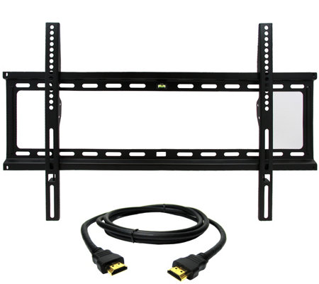 "MegaMounts Fixed 32"" to 70"" TV Wall Mount with HDMI Cable"