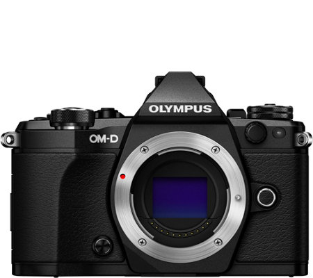 Olympus OM-D E-M5 Mark II 16MP Mirrorless Camera - Body Only