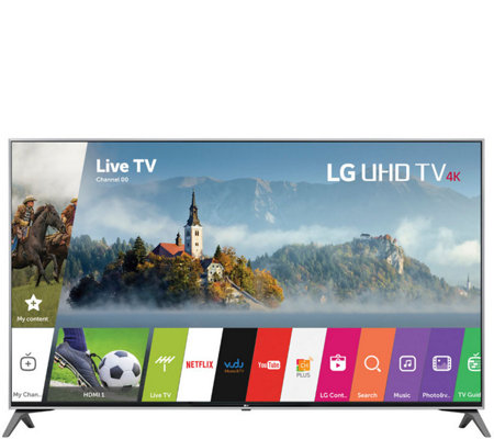 "LG 49"" 4K HDR Ultra HD Smart LED TV with App Pack"