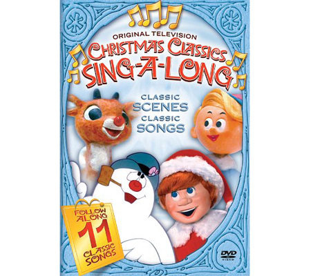 Christmas Classics 4-Disc DVD Movie Bundle withSing-A-Longs