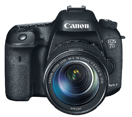 Canon EOS 7D Mark II 20.2MP DSLR Camera & 18-135mm Lens
