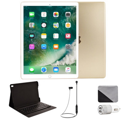 "Apple iPad Pro 10.5"" 512GB Cellular & Accessories - Gold"