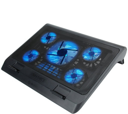 Enhance Gaming Laptop Cooling Pad Stand With Led Cooler Fans
