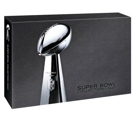 NFL Super Bowl I - XLVI Collection 23-Disc Set